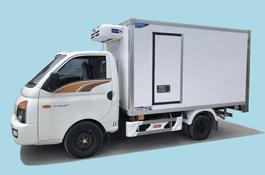 Xe Lạnh 1 tấn ➔ 5 tấn