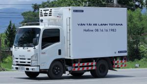 Xe tải đông lạnh 1,4 tấn