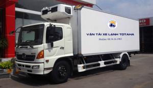 Xe tải đông lạnh 13 tấn