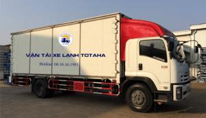 Xe tải đông lạnh 15 tấn