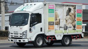 công ty TOTAHA cho thuê xe đông lạnh Vận chuyển thực phẩm