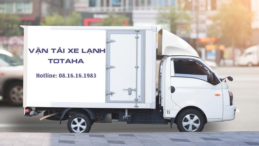 Công ty vận tải TOTAHA VN chuyên cho thuê xe đông lạnh, cho thuê xe tải 1 tấn đông lạnh vận chuyển hàng hóa, thực phẩm tại Hà Nội.
