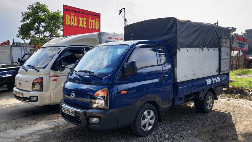 Công ty Totaha cho Thuê xe tải 1 tấn tại Hà Nội giá tốt mà chất lượng và uy tín